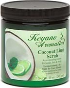 Keyano Manicure & Pedicure, Coconut Lime Scrub 10 oz