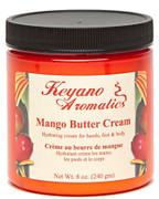 Keyano Manicure & Pedicure, Mango Butter Cream 8 oz.