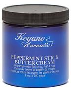 Keyano Manicure & Pedicure, Peppermint Stick Butter Cream 8 oz.