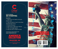 20% off Chisel Nail Art America Collection #016