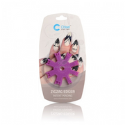 20% off Chisel Nail Art Zigzag Edger Purple