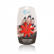20% off Chisel Nail Art Zigzag Edger Red