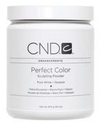 CND Powder, Pure White Opaque 16oz