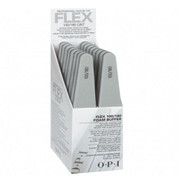 OPI Professional File - Flex Silver - 100/180 Grit - Pack of 16