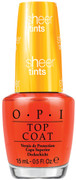 OPI Top Coat, I'm Never Amberrassed