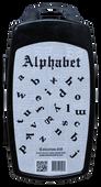 20% off Chisel Nail Art - Alphabet 3D Stamps - Kit18