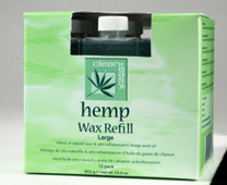 Clean+ Easy Hemp Wax Refill - Large Cartridges, 12 Pack