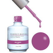 PERFECT MATCH - Gel Polish + Lacquer, Wild Berry PMS131