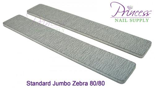 Princess Nail Files, 50 per pack - Jumbo Zebra