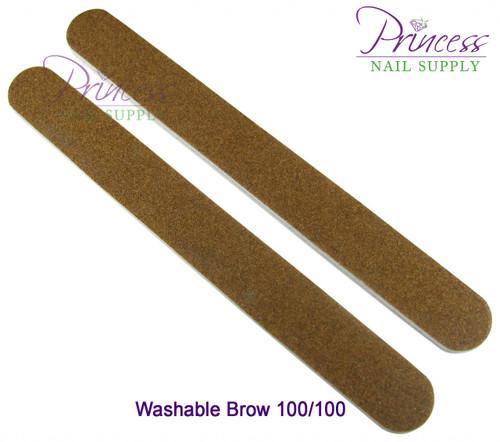 Princess Nail Files, 50 per pack - Washable Brow
