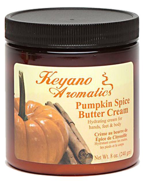 Keyano Manicure & Pedicure, Pumpkin Spice Butter Cream 8 oz.
