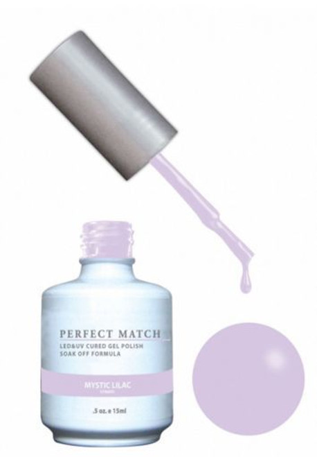 PERFECT MATCH - Gel Polish + Lacquer,  Mystic Lilac PMS170 - DW170