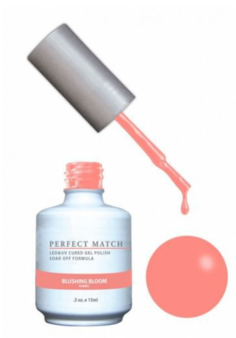 PERFECT MATCH - Gel Polish + Lacquer,  Blushing Bloom PMS171 - DW171