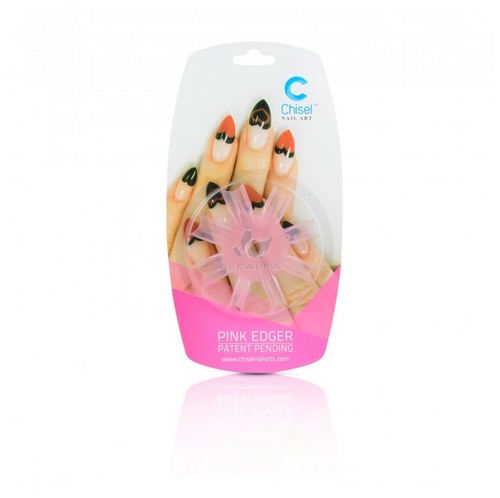 20% off Chisel Nail Art Heart Edger Pink