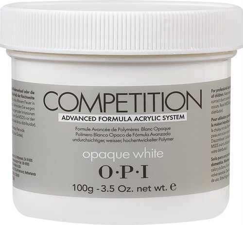 Competition Powders, Opaque White 3.52oz