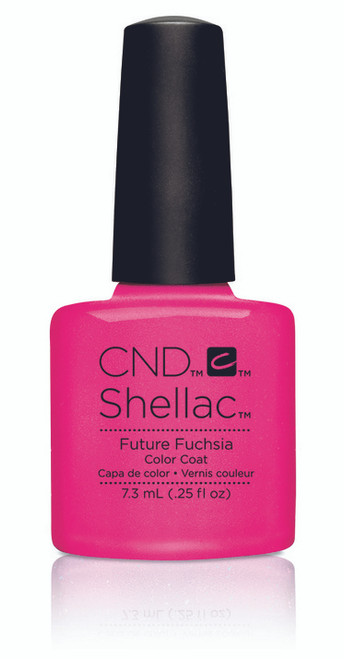 SHELLAC UV Color Coat - ART VANDAL - Future Fuchsia .25oz