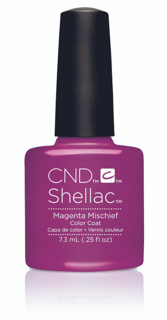 SHELLAC UV Color Coat - ART VANDAL - Magenta Mischief .25oz