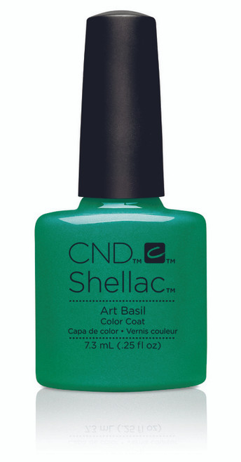 SHELLAC UV Color Coat - ART VANDAL - Art Basil .25oz