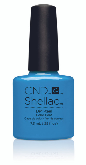 SHELLAC UV Color Coat - ART VANDAL - Digi-Teal .25oz