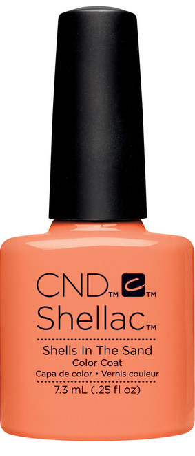 SHELLAC UV Color Coat - Rhythm & Heat Collection - SHELLS IN THE SAND .25oz #91588