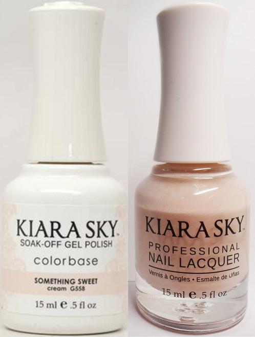 Kiara Sky Gel + Lacquer, SOMETHING SWEET G558