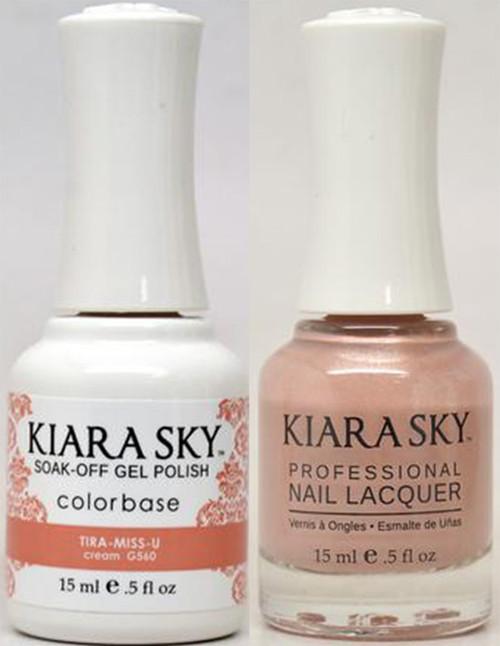 Kiara Sky Gel + Lacquer, TIRA-MISS-U G560