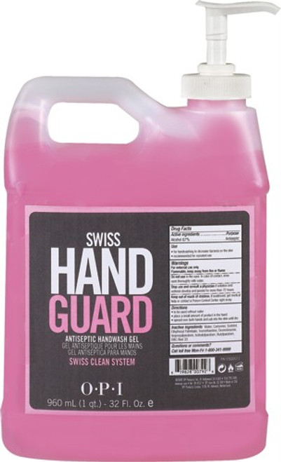 OPI Swiss Hand Guard- Hand Sanitizer  32oz