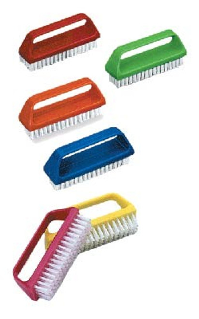 Manicure Brush, Top Grip, 1 Each, Assorted Colors