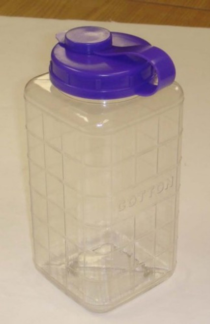 Cotton Dispenser Bottle, Large