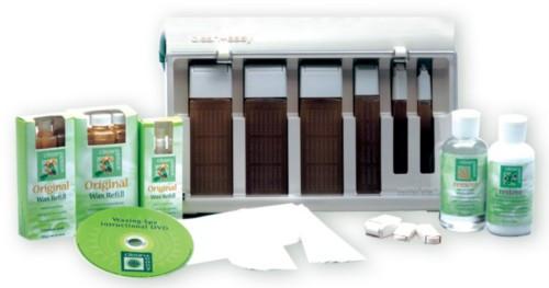 Clean + Easy Waxing Spa Kit