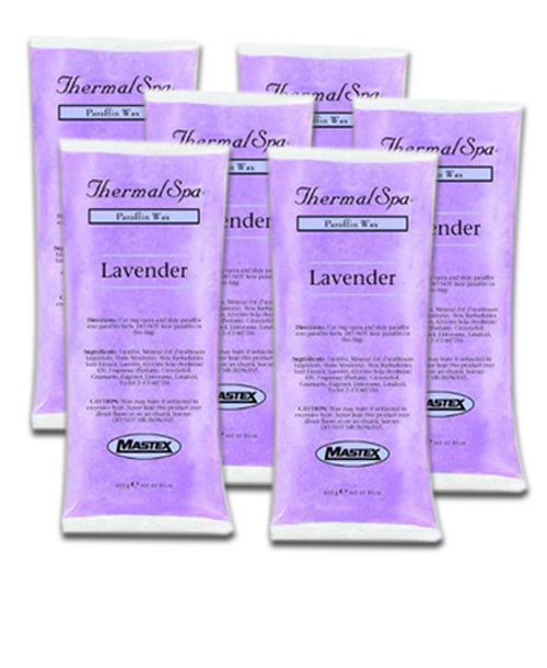 Thermal Spa Paraffin Wax Lavender Box of 6