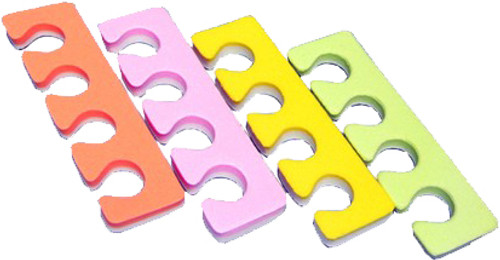 Toe Separators, Multi-Color, 100 pair (TS2)