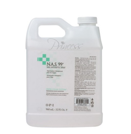 OPI N.A.S 99 Nail Cleasing Solution 32 oz x 4