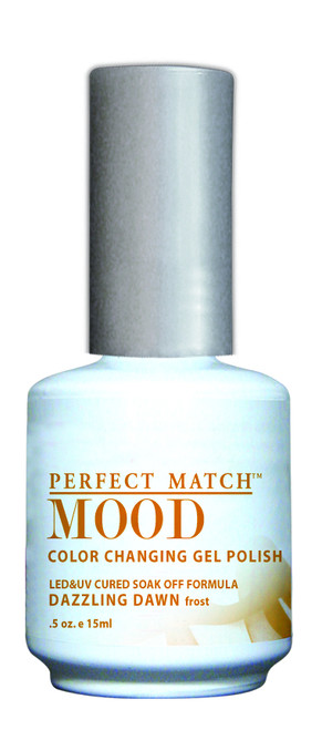 LeChat Mood Color Changing Gel Polish, Dazzling Dawn MPMG15