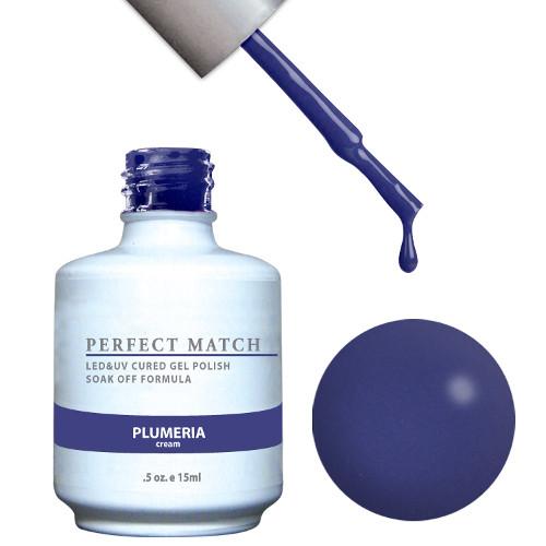PERFECT MATCH - Gel Polish + Lacquer, PLUMERIA PMS101