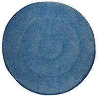 """17"""" BLUE Microfiber Loop Pile CARPET BONNET"""