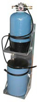 Small Water Softener w/ Automatic Recharge and Brine Tank
