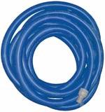 """Super Truckmount Vacuum Hose; blue, 2"""" x 50' w/cuffs"""