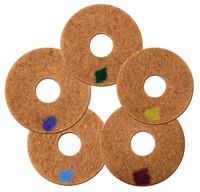 """17"""" Spinergy Stone Polishing Pads - Set of 5"""