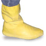 "SHOE COVERS LATEX ""HAZMAT"" XL 12"" YELLOW X-LARGE 10-12"