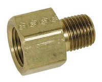ADAPTER 1/4'F x 1/4'M BRASS
