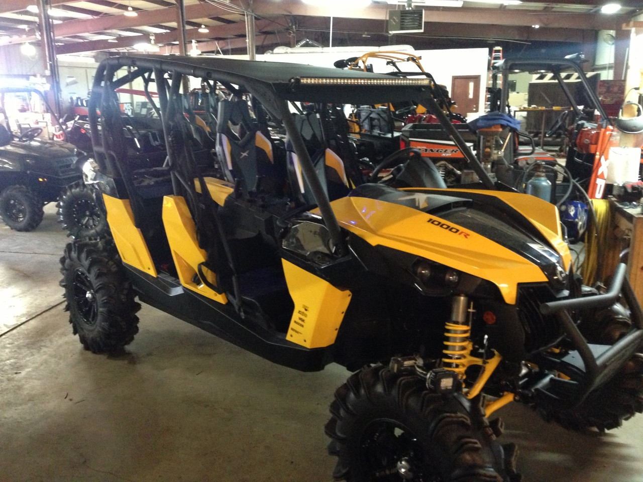 Can Am Maverick Max Fully Loaded Roof Option 1 Offroad