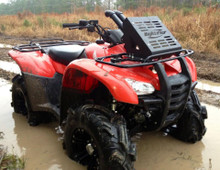 Honda Rancher 420 (See apps) Radiator Relocation/Snorkel Combo Kit
