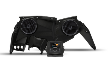 Stereo and front speaker kit for select Maverick X3 models