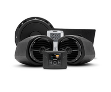 400 watt stereo, front lower speaker, and subwoofer kit for select Polaris GENERAL™