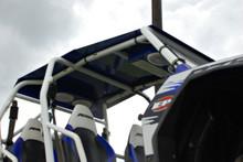 Custom Stereo Roof powdercoated blue