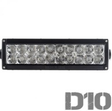 "Delta 10"" Dual Row Combo Beam LED Light Bar"