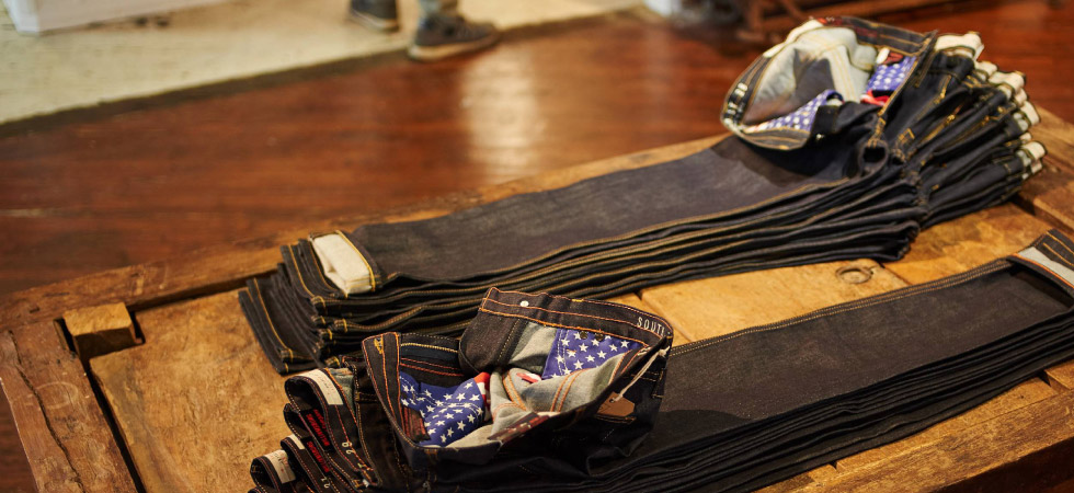 American made denim jeans