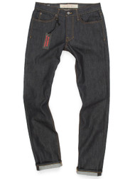 Raw Denim Jeans. American Made Jeans for Men in Slim Fit.