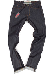 38 Inseam Tall Mens Raw Jeans made in USA.